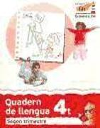 Cover-Bild zu Valencià, 4 Educació Primària. 2n trimestre. Quadern de llengua 4 : Valencià. Segon cicle de Primària. 4t curs