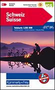 Cover-Bild zu Hallwag Kümmerly+Frey AG (Hrsg.): Schweiz Velokarte. 1:301'000