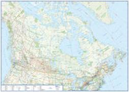 Cover-Bild zu Übersichtskarte Kanada. 1:6'000'000
