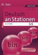 Cover-Bild zu Deutsch an Stationen SPEZIAL Grammatik 5-6 von Scherer, Yvonne