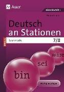 Cover-Bild zu Deutsch an Stationen SPEZIAL Grammatik 7-8 von Scherer, Yvonne