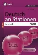 Cover-Bild zu Deutsch an Stationen SPEZIAL Grammatik 9-10 von Scherer, Yvonne