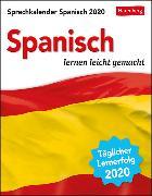 Cover-Bild zu Sprachkalender Spanisch Kalender 2020