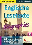 Cover-Bild zu eBook Englische Lesetexte / Biographies