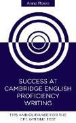 Cover-Bild zu eBook Success at Cambridge English: Proficiency Writing
