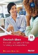 Cover-Bild zu Deutsch üben- Phonetik - Übungen und Tipps für eine gute Aussprache B1 von Niebisch, Daniela
