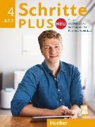 Cover-Bild zu Schritte plus Neu 4. Kursbuch + Arbeitsbuch + CD zum Arbeitsbuch von Hilpert, Silke