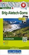 Cover-Bild zu Brig Aletsch Goms Nr. 06 Touren-Wanderkarte 1:50 000. 1:50'000