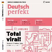 Cover-Bild zu eBook Deutsch lernen Audio - Total viral