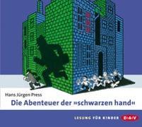 """Cover-Bild zu Die Abenteuer der """"schwarzen hand"""" von Press, Hans Jürgen"""