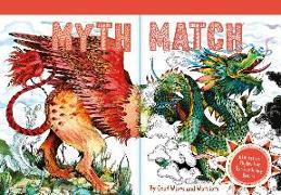 Cover-Bild zu Good Wives And Warriors (Illustr.): Myth Match: A Fantastical Flipbook of Extraordinary Beasts