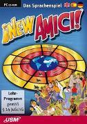 Cover-Bild zu New Amici - Das Sprachenspiel (CD-ROM)