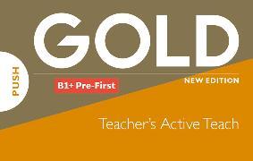 Cover-Bild zu New Gold Pre-First NE 2019 Classroom Presentation Tool (ActiveTeach)
