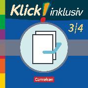 Cover-Bild zu Klick! inklusiv - Grundschule / Förderschule, Mathematik, 3./4. Schuljahr, Themenhefte 7-12 im Paket von Burkhart, Silke