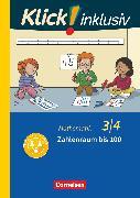 Cover-Bild zu Klick! inklusiv - Grundschule / Förderschule, Mathematik, 3./4. Schuljahr, Zahlenraum bis 100, Themenheft 7 von Burkhart, Silke