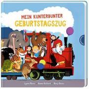 Cover-Bild zu Moore, Lynne: Mein kunterbunter Geburtstagszug