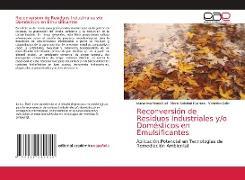Cover-Bild zu Reconversión de Residuos Industriales y/o Domésticos en Emulsificantes