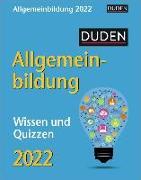 Cover-Bild zu Duden Allgemeinbildung Kalender 2022