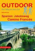 Cover-Bild zu Spanien: Jakobsweg Camino Francés. 1:200'000 von Joos, Raimund
