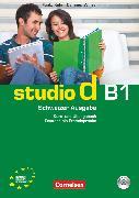 Cover-Bild zu Studio d, Deutsch als Fremdsprache, Schweiz, B1, Kurs- und Übungsbuch mit Lösungsbeileger und Audio-CD, Hörtexte der Übungen