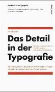Cover-Bild zu Das Detail in der Typografie