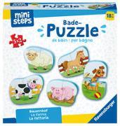 Cover-Bild zu Ravensburger ministeps 4167 Bade-Puzzle Bauernhof - Badespielzeug, Spielzeug ab 18 Monate