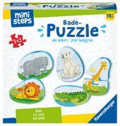Cover-Bild zu Ravensburger ministeps 4166 Bade-Puzzle Zoo - Badespielzeug, Spielzeug ab 18 Monate