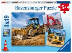 Cover-Bild zu Baufahrzeuge im Einsatz