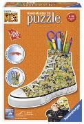 Cover-Bild zu Ravensburger 3D Puzzle 11262 Sneaker Minions - Praktischer Stiftehalter - 108 Teile - Schreibtisch-Organizer für Kinder ab 8 Jahren