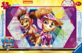 Cover-Bild zu Ravensburger Kinderpuzzle 05219 - Team Awesome im Einsatz - 15 Teile PAW Patrol Rahmenpuzzle für Kinder ab 3 Jahren