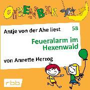 Cover-Bild zu Herzog, Annette: Ohrenbär - eine OHRENBÄR Geschichte, 6, Folge 58: Feueralarm im Hexenwald (Hörbuch mit Musik) (Audio Download)