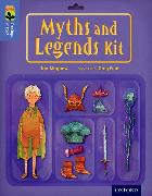 Cover-Bild zu Mayhew, Jon: Oxford Reading Tree Treetops Infact: Level 17: Myths and Legends Kit