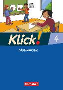 Cover-Bild zu Klick! Mathematik - Unterstufe, Alle Bundesländer - Förderschule, 4. Schuljahr, Schülerbuch mit Kartonbeilage von Burkhart, Silke