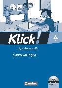 Cover-Bild zu Klick! Mathematik - Unterstufe, Alle Bundesländer - Förderschule, 4. Schuljahr, Kopiervorlagen mit CD-ROM von Burkhart, Silke