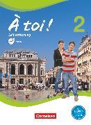 Cover-Bild zu À toi !, Vier- und fünfbändige Ausgabe, Band 2, Schülerbuch - Lehrerfassung mit Video-DVD, Kartoniert von Gregor, Gertraud