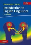 Cover-Bild zu Introduction to English Linguistics von Bieswanger, Markus