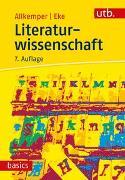 Cover-Bild zu Literaturwissenschaft von Allkemper, Alo