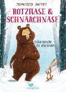 Cover-Bild zu Rotzhase & Schnarchnase - Möhrenklau im Bärenbau von Gough, Julian