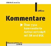 Cover-Bild zu Kommentare Offline von Orell Füssli AG Verlag (Hrsg.)