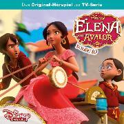 Cover-Bild zu Disney / Elena von Avalor - Folge 10: Naomis Verwandlung / Der Zauberlehrling (Audio Download) von Stark, Conny