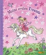 Cover-Bild zu Die Elfenprinzessin und das Einhorn Freundebuch