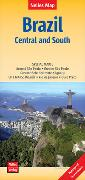 Cover-Bild zu Nelles Map Landkarte Brazil: Central and South. 1:2'500'000