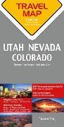 Cover-Bild zu Reisekarte Utah / Nevada / Colorado 1:800.000. 1:800'000
