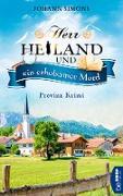 Cover-Bild zu Herr Heiland und ein erholsamer Mord (eBook)