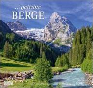Cover-Bild zu geliebte Berge 2022 - DUMONT Wandkalender - mit den wichtigsten Feiertagen - Format 38,0 x 35,5 cm