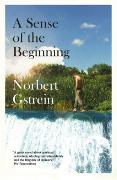 Cover-Bild zu A Sense of the Beginning von Gstrein, Norbert