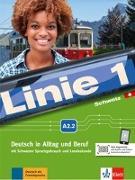 Cover-Bild zu Linie 1 Schweiz A2.2. Kurs- und Übungsbuch mit DVD-ROM von Dengler, Stefanie