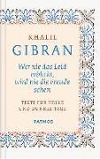Cover-Bild zu Gibran, Khalil: Wer nie das Leid erblickt, wird nie die Freude sehen