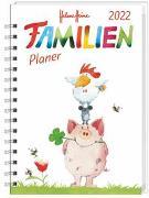 Cover-Bild zu Helme Heine Familienplaner Buch A6 Kalender 2022 von Heine, Helme