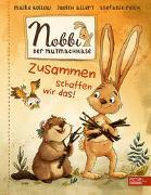Cover-Bild zu Nobbi, der Mutmachhase (Band 2) von Bollow, Maike